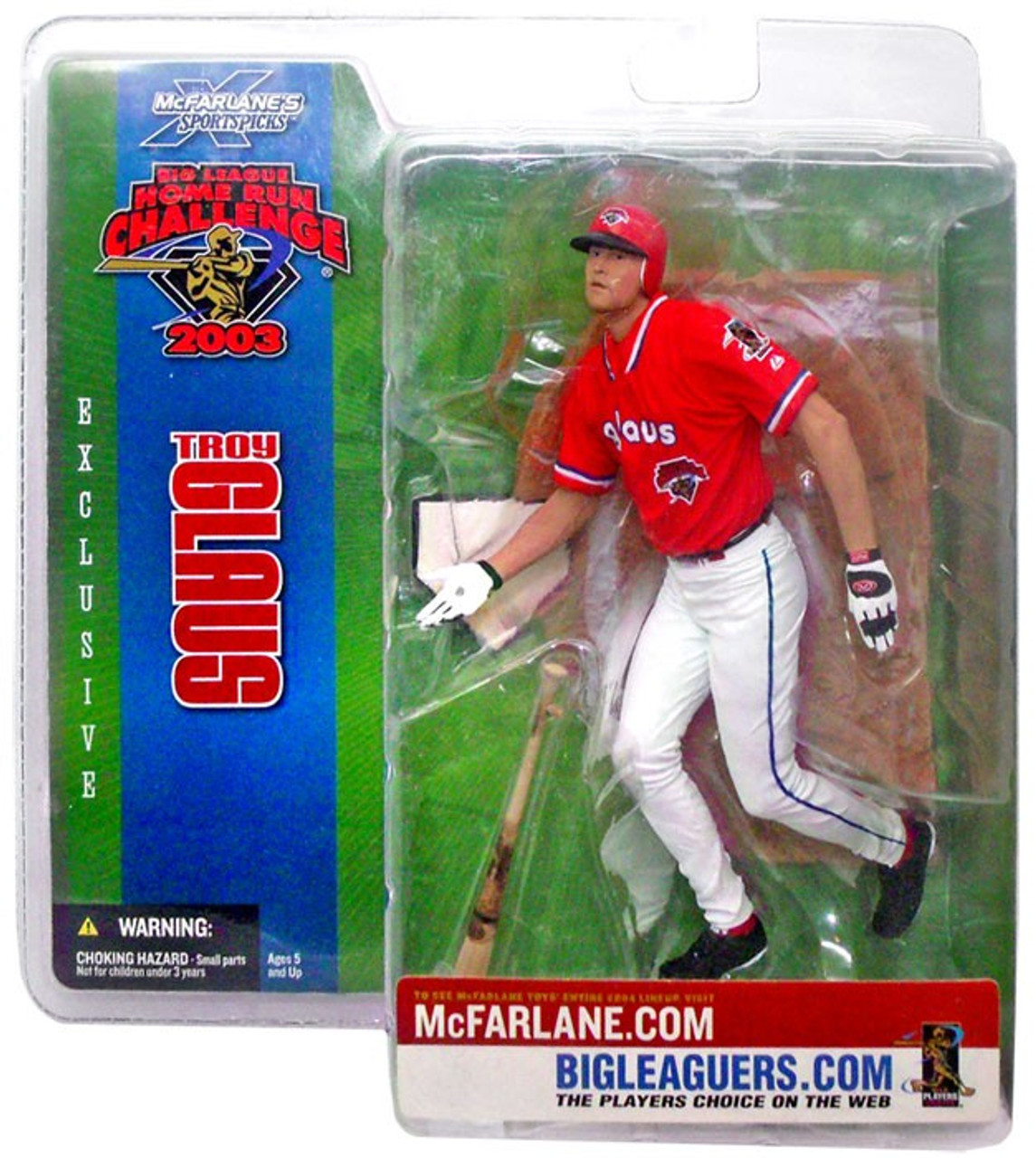 McFarlane Toys MLB Sports Picks Series 8 Troy Glaus Action Figure