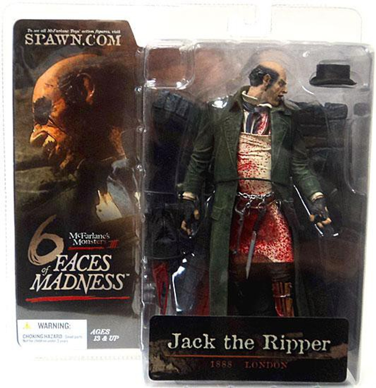 McFarlane Toys McFarlane's Monsters 6 Faces of Madness Jack the Ripper Action Figure