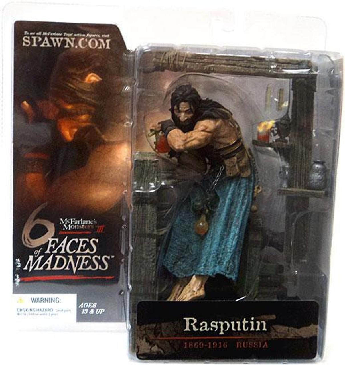 McFarlane Toys McFarlane's Monsters 6 Faces of Madness Rasputin Action Figure