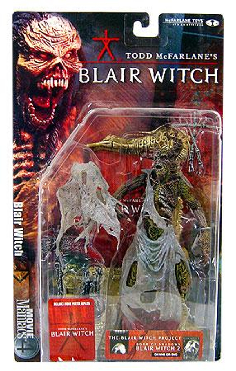 McFarlane Toys Blair Witch Project Movie Maniacs Series 4 Blair Witch Action Figure [Tree Face]