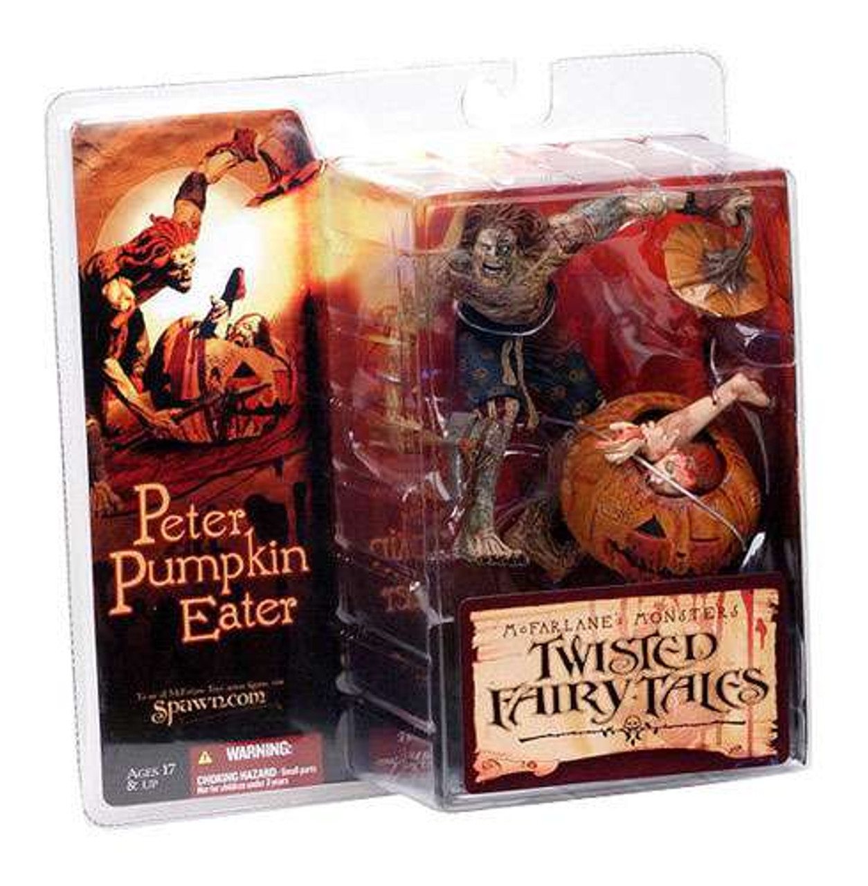 McFarlane Toys McFarlane's Monsters Twisted Fairy Tales Peter Pumpkin Eater Action Figure