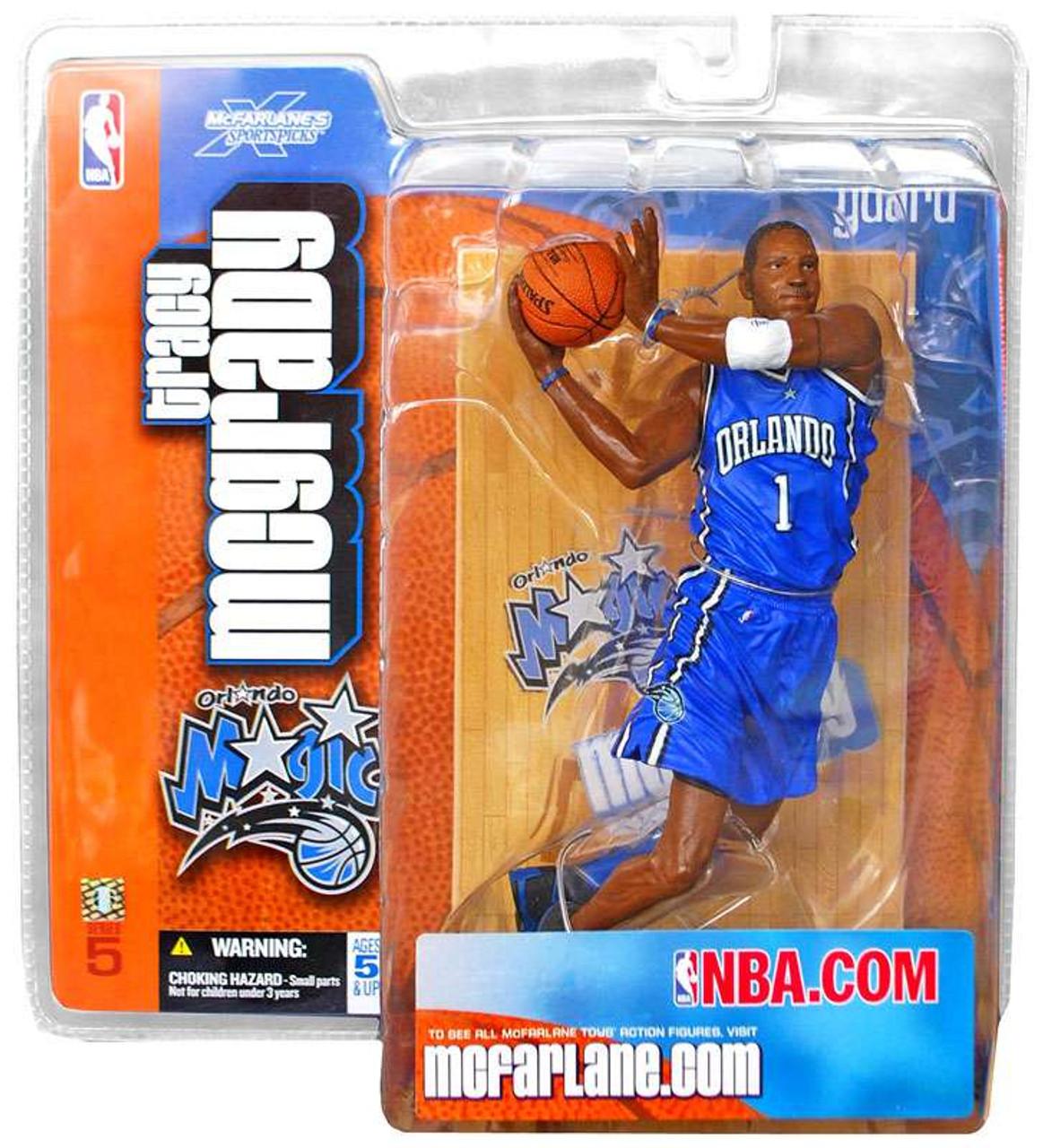 McFarlane Toys NBA Orlando Magic Sports Picks Series 5 Tracy McGrady Action Figure [Blue Jersey]