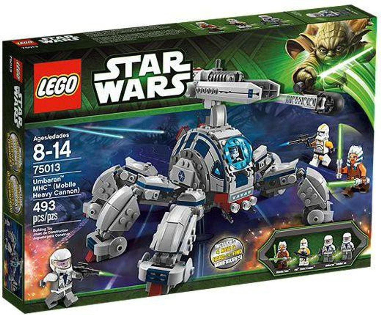 LEGO Star Wars The Clone Wars Umbaran MHC [Mobile Heavy Cannon] Set #75013