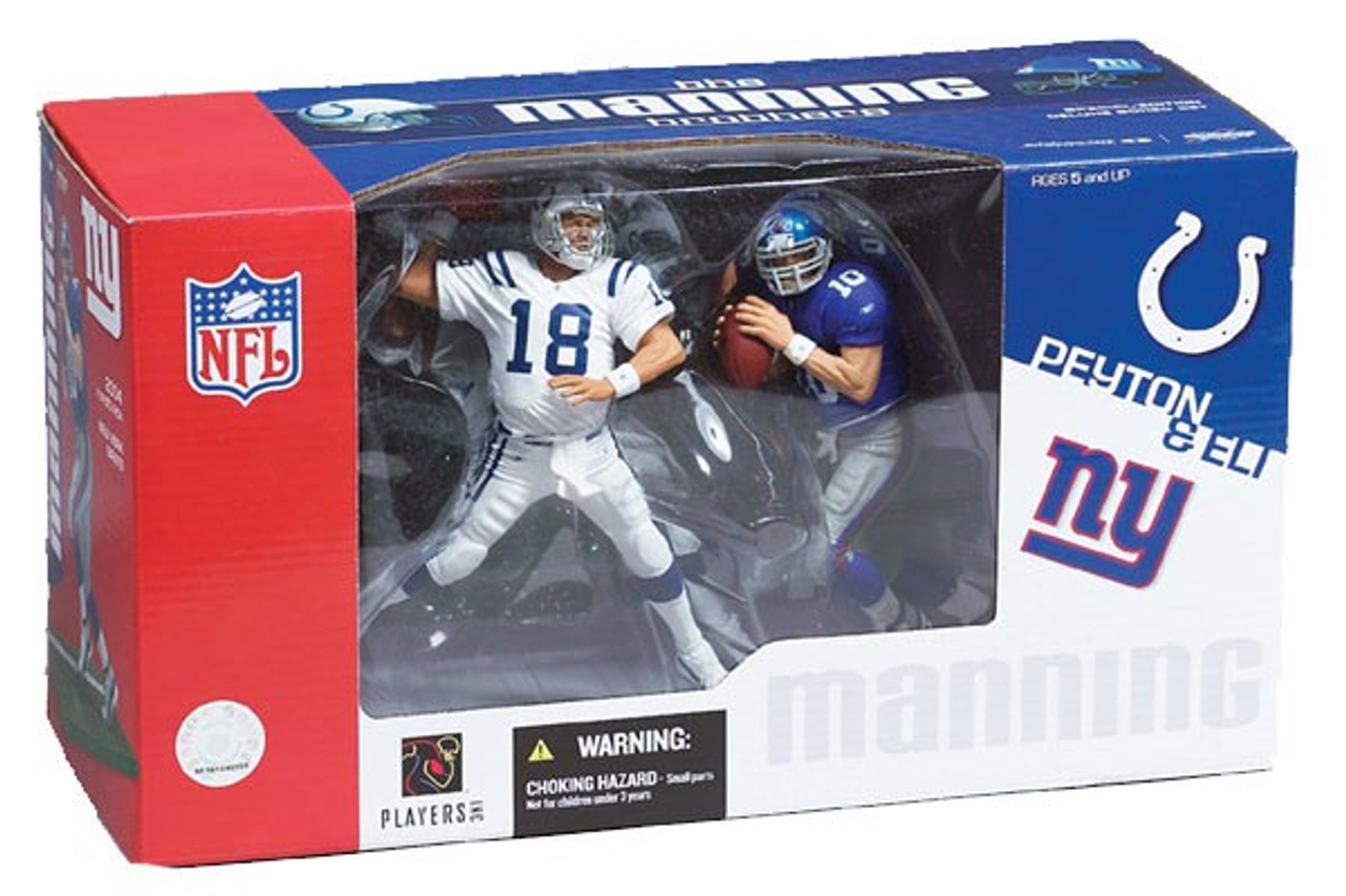 McFarlane Toys NFL Indianapolis Colts / New York Giants Sports Picks Peyton Manning & Eli Manning Action Figure 2-Pack