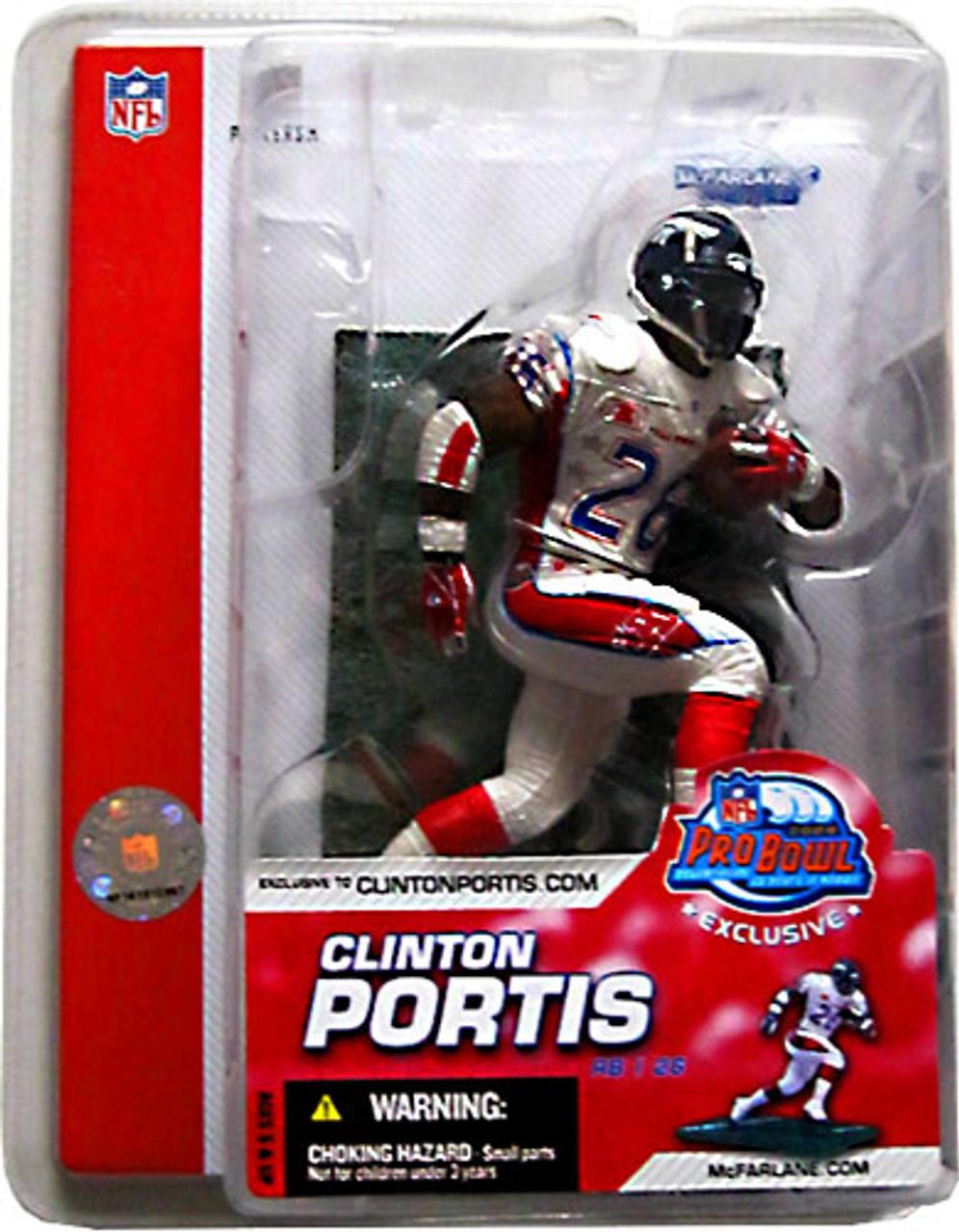 McFarlane Toys NFL Denver Broncos Sports Picks Pro Bowl Clinton Portis Exclusive Action Figure