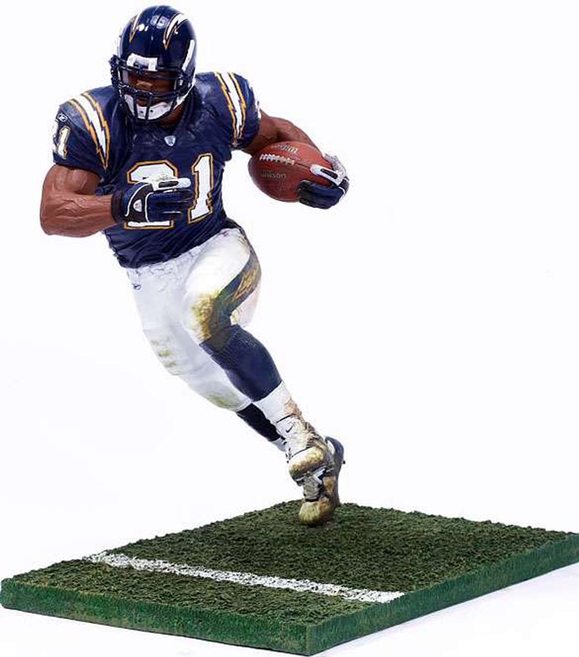 McFarlane Toys NFL San Diego Chargers Sports Picks Series 10 LaDainian Tomlinson Action Figure [Blue Jersey]