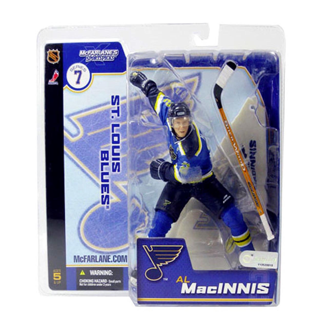 McFarlane Toys NHL St. Louis Blues Sports Picks Series 7 Al Macinnis Action Figure [Blue Jersey]