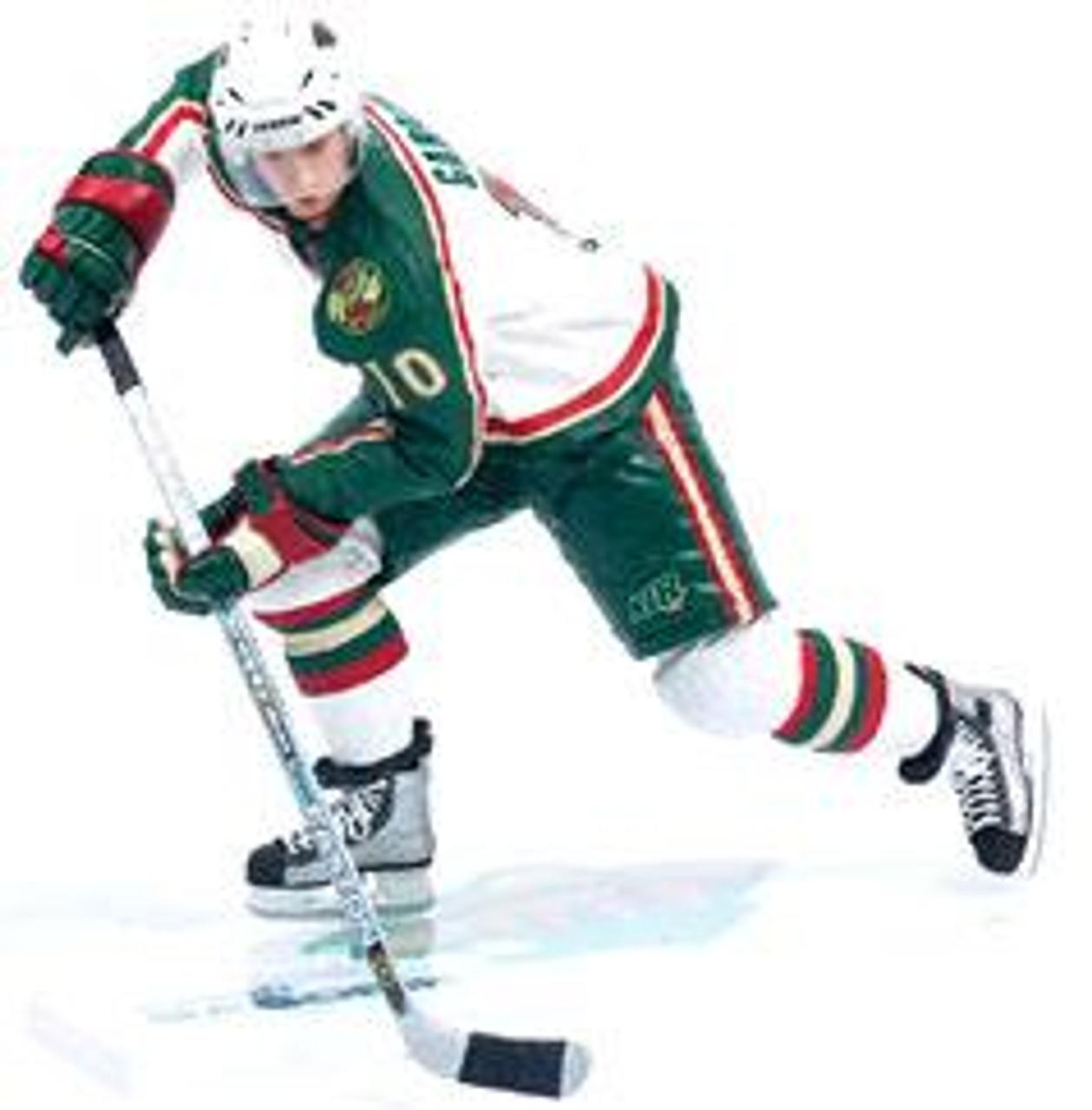 McFarlane Toys NHL Minnesota Wild Sports Picks Series 7 Marian Gaborik Action Figure [White Jersey]
