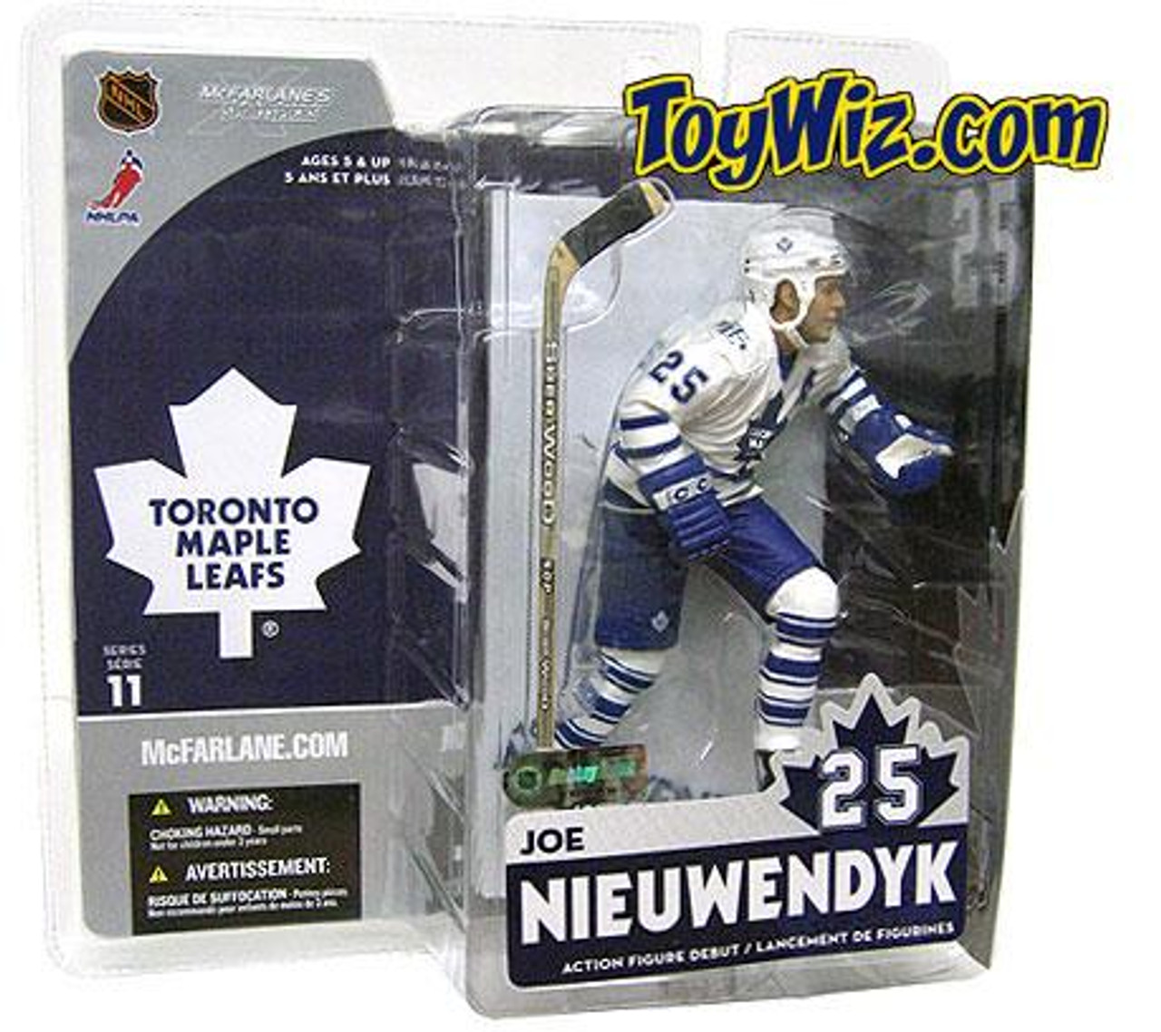 McFarlane Toys NHL Toronto Maple Leafs Sports Picks Series 11 Joe Nieuwendyk Action Figure