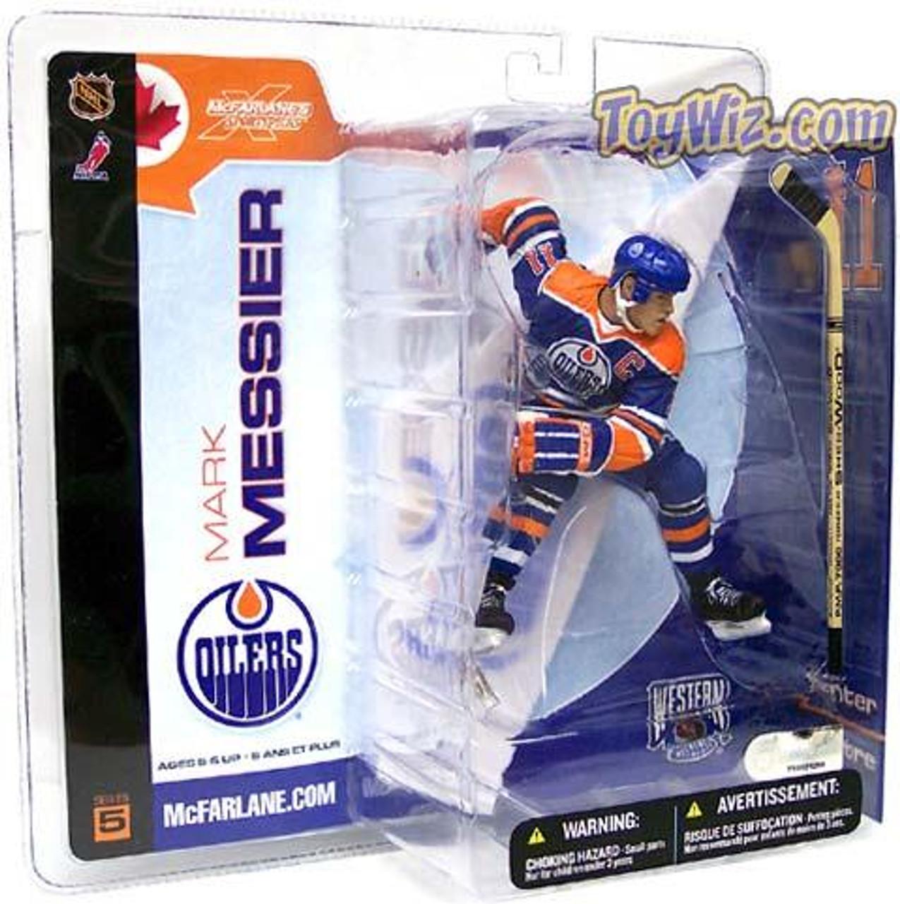 McFarlane Toys NHL Edmonton Oilers Sports Picks Series 5 Mark Messier Action Figure