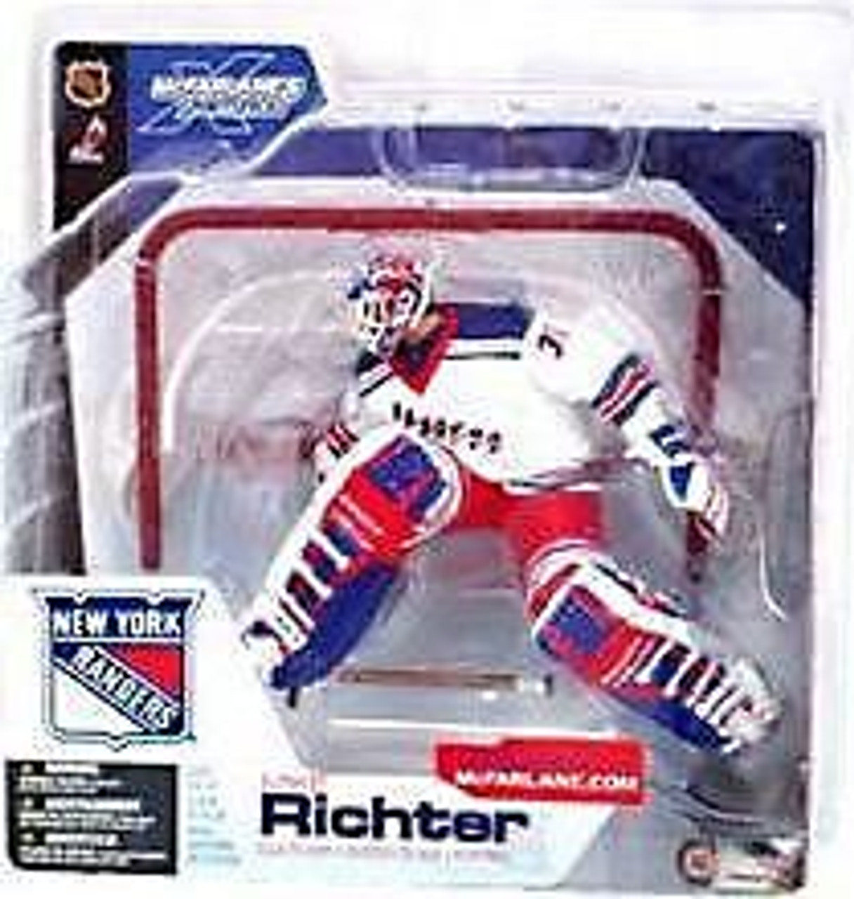 McFarlane Toys NHL New York Rangers Sports Picks Series 4 Mike Richter Action Figure [White Jersey]