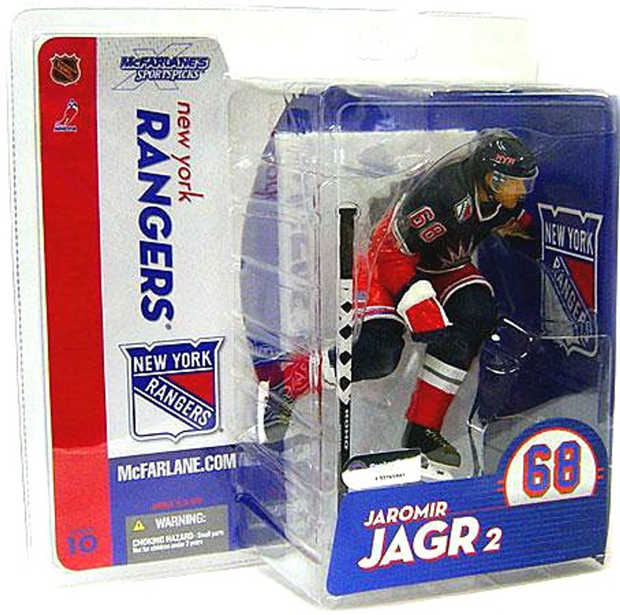McFarlane Toys NHL New York Rangers Sports Picks Series 10 Jaromir Jagr Action Figure [Blue Jersey]