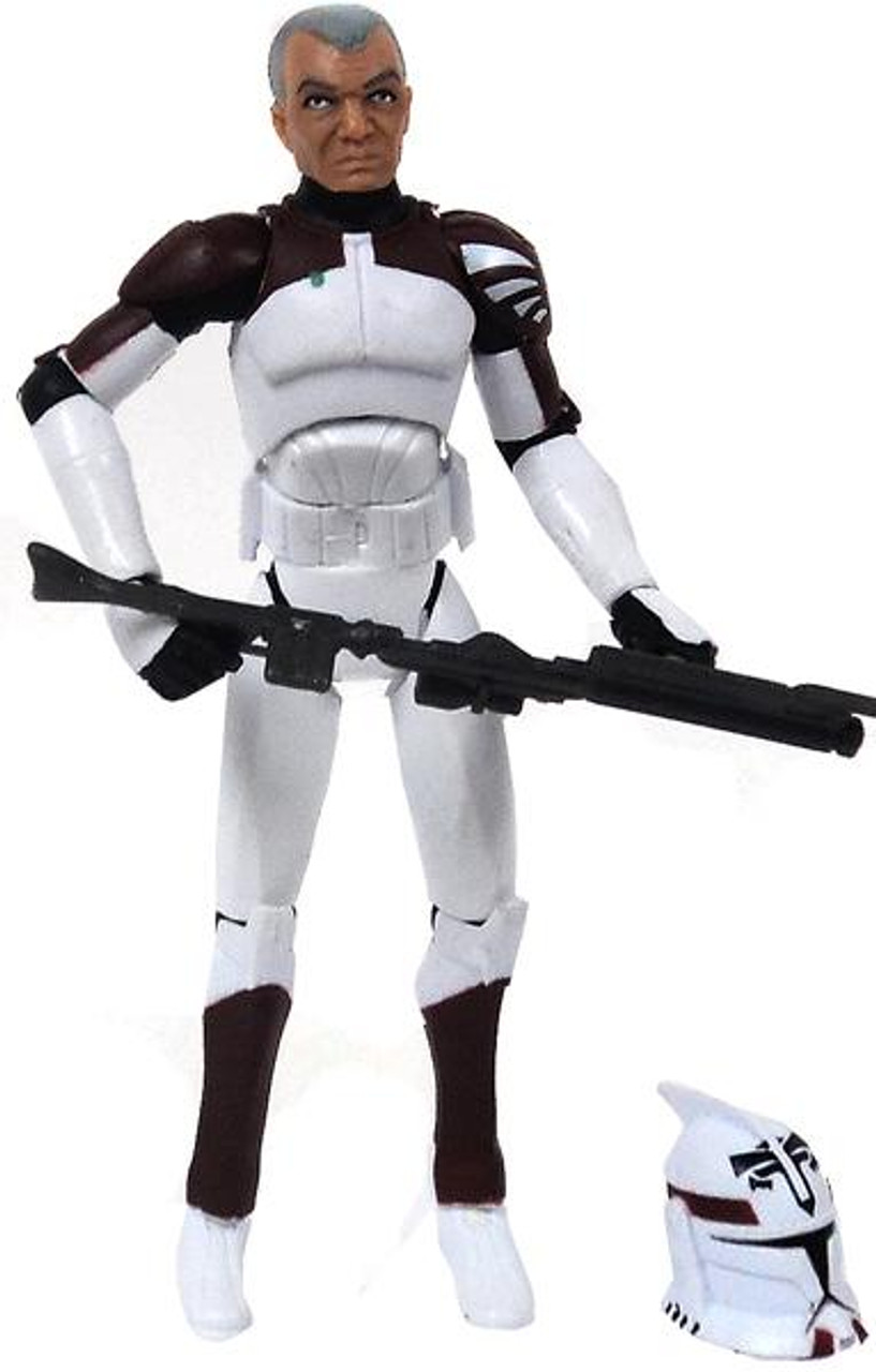 Star Wars The Clone Wars Battle Packs 2009 Clone Trooper Boost Exclusive Action Figure Set [Loose]