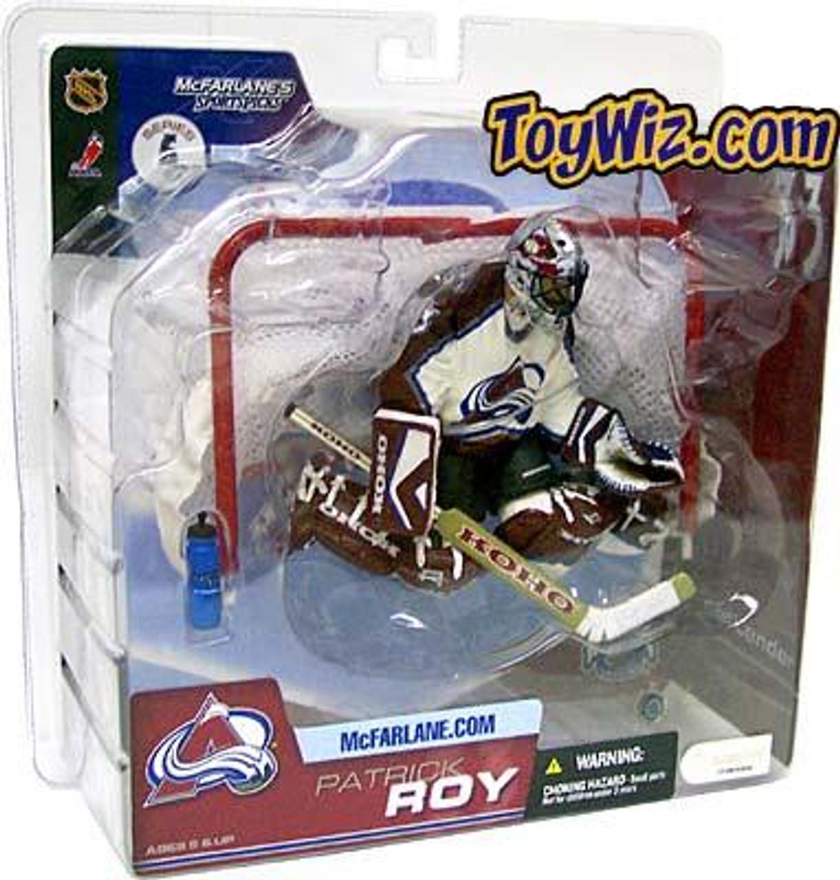 McFarlane Toys NHL Colorado Avalanche Sports Picks Series 6 Patrick Roy Action Figure [White Jersey]