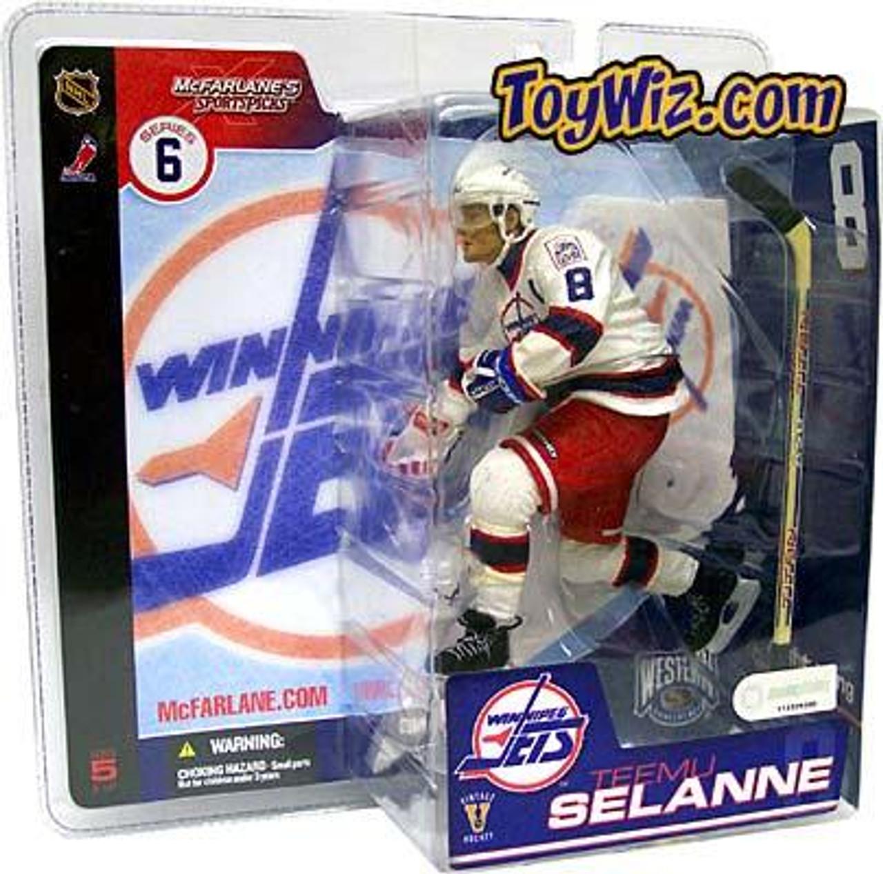 McFarlane Toys NHL Winnipeg Jets Sports Picks Series 6 Teemu Selanne Action Figure [Winnepeg Jets]