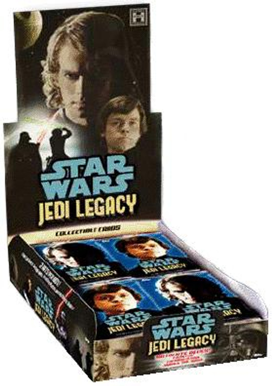Star Wars Jedi Legacy Trading Card Box [24 Packs]