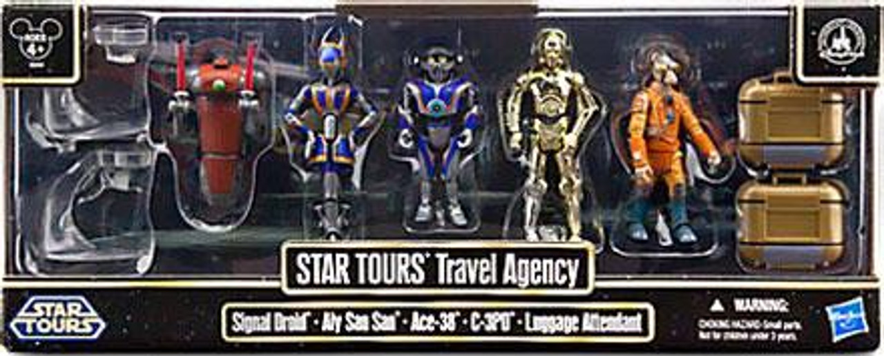 Star Wars Exclusives 2013 Star Tours Travel Agency Exclusive Action Figure