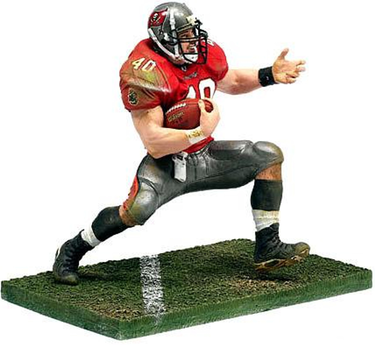 McFarlane Toys NFL Tampa Bay Buccaneers Sports Picks Series 6 Mike Alstott Action Figure [Red Jersey]
