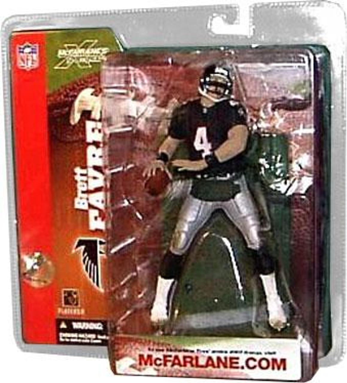 McFarlane Toys NFL Atlanta Falcons Sports Picks Series 6 Brett Favre Action Figure [Retro Jersey Handwarmers]