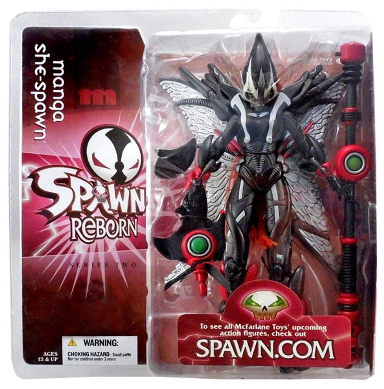 McFarlane Toys Spawn Reborn Series 2 Manga She Spawn Action Figure