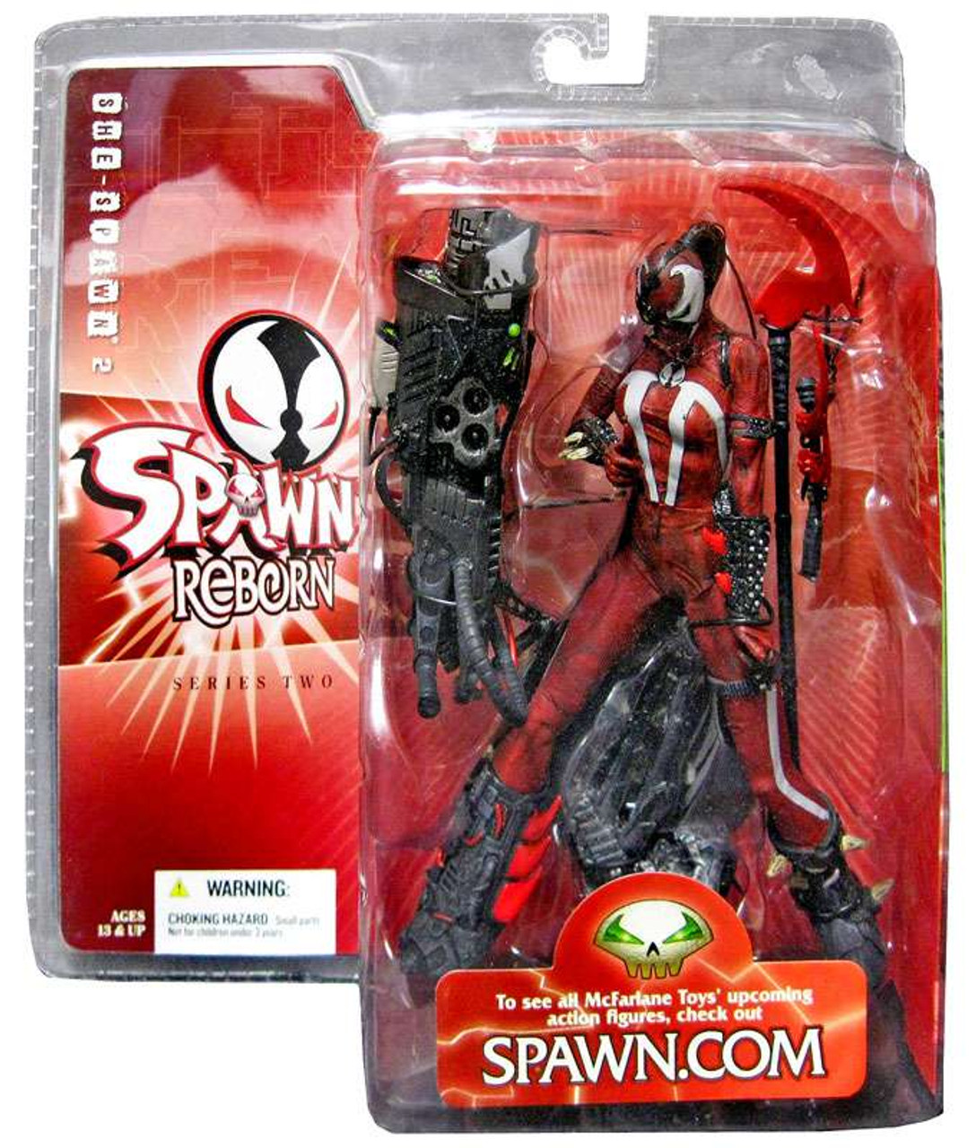 McFarlane Toys Spawn Reborn Series 2 She-Spawn 2 Action Figure