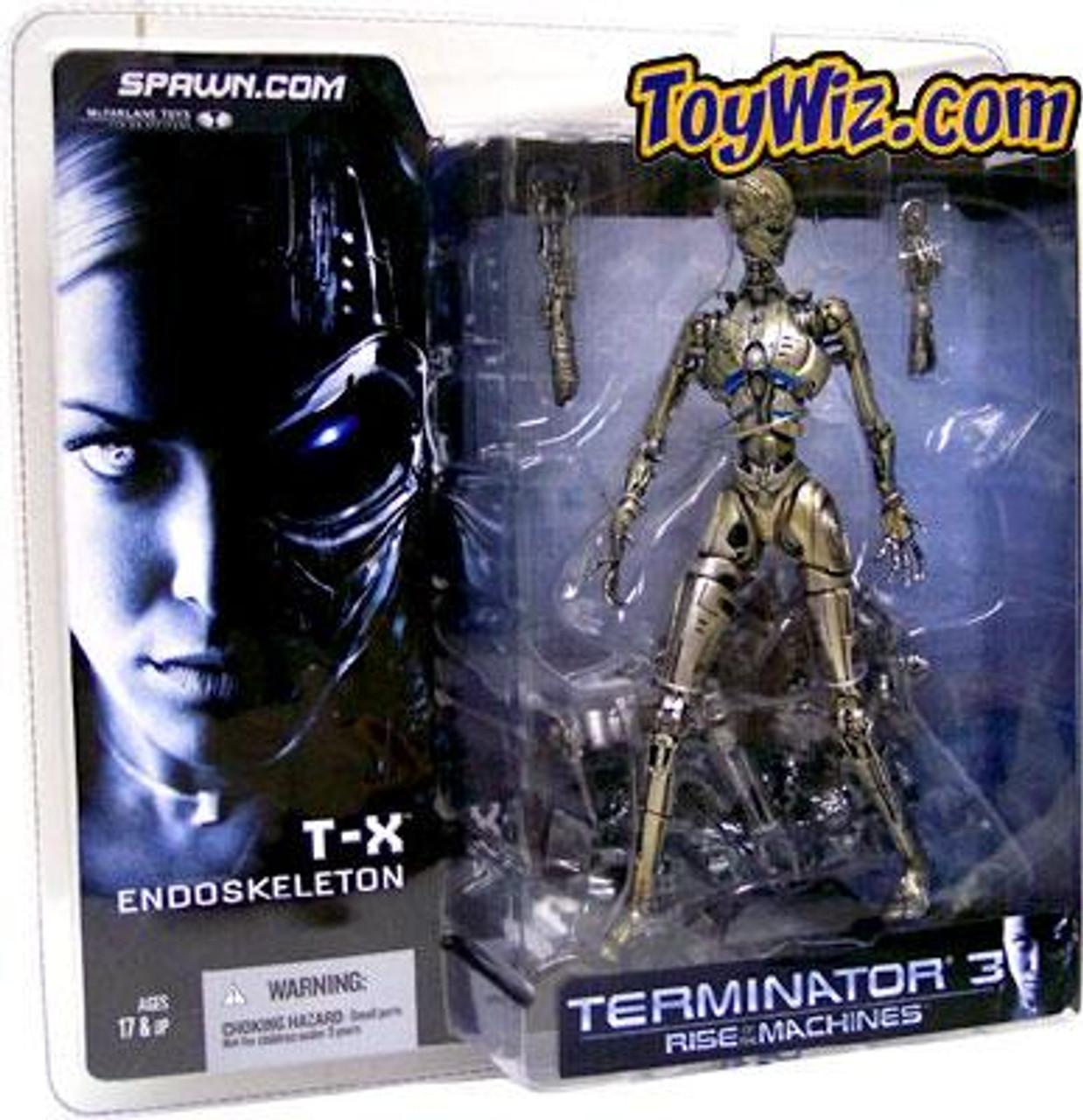 McFarlane Toys Terminator Rise of the Machines T-X Endoskeleton Action Figure