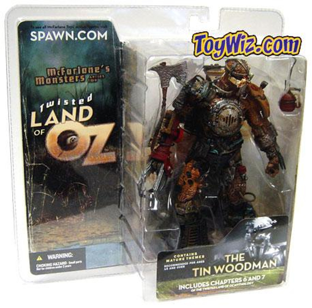 McFarlane Toys McFarlane's Monsters Twisted Land of Oz The Tin Woodsman Action Figure