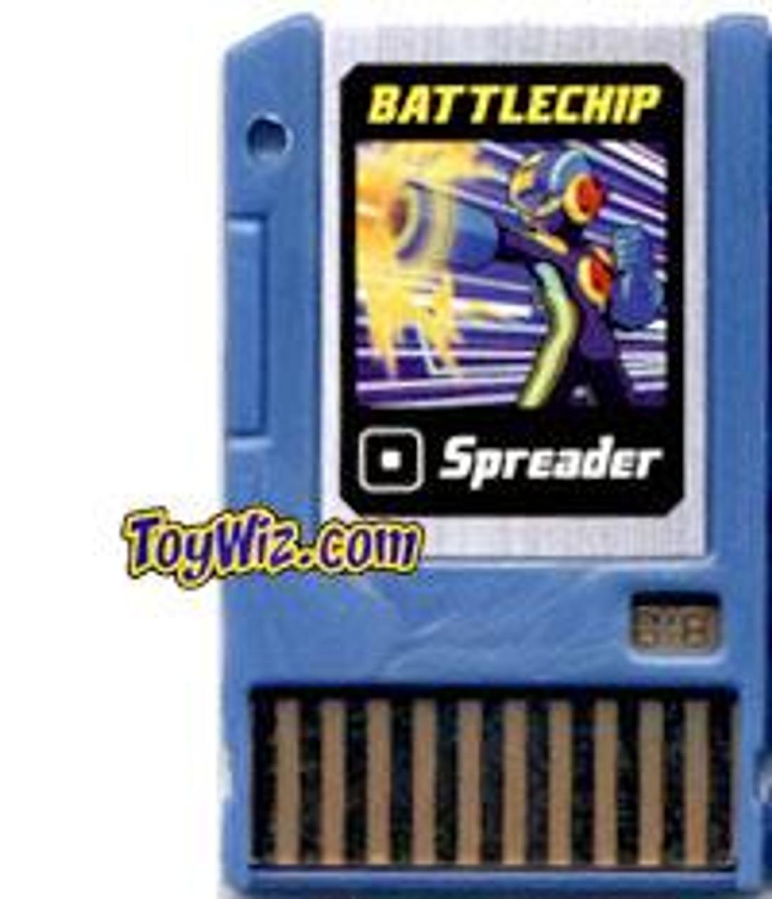 Mega Man Spreader Battle Chip #018