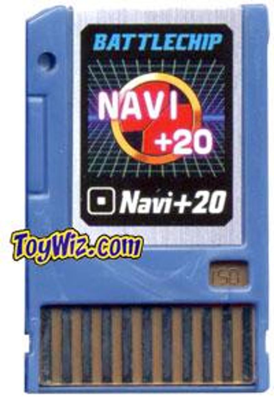 Mega Man Navi +20 Battle Chip #150