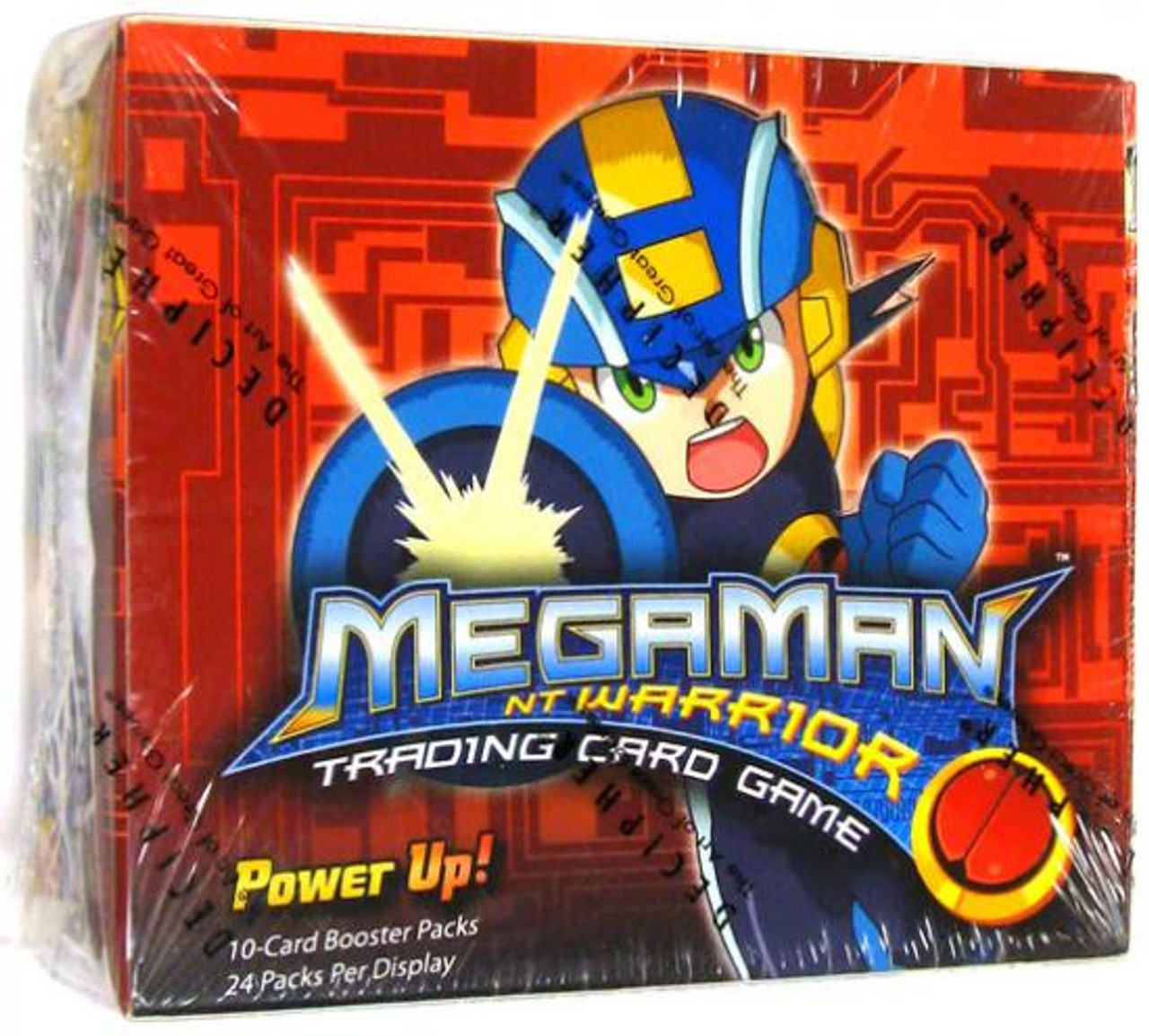 Mega Man NT Warrior Power Up! Booster Box [24 Packs]