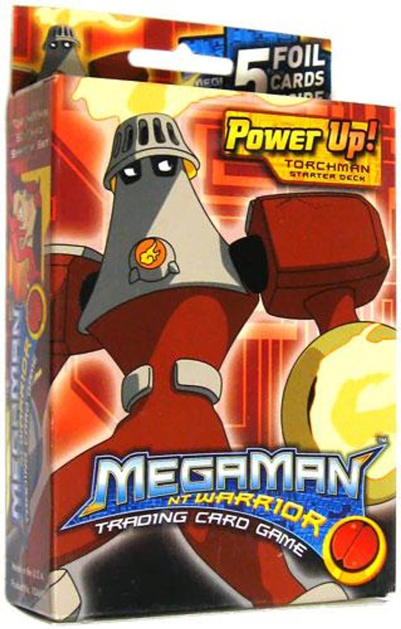 Mega Man NT Warrior Power Up! Torchman Starter Deck