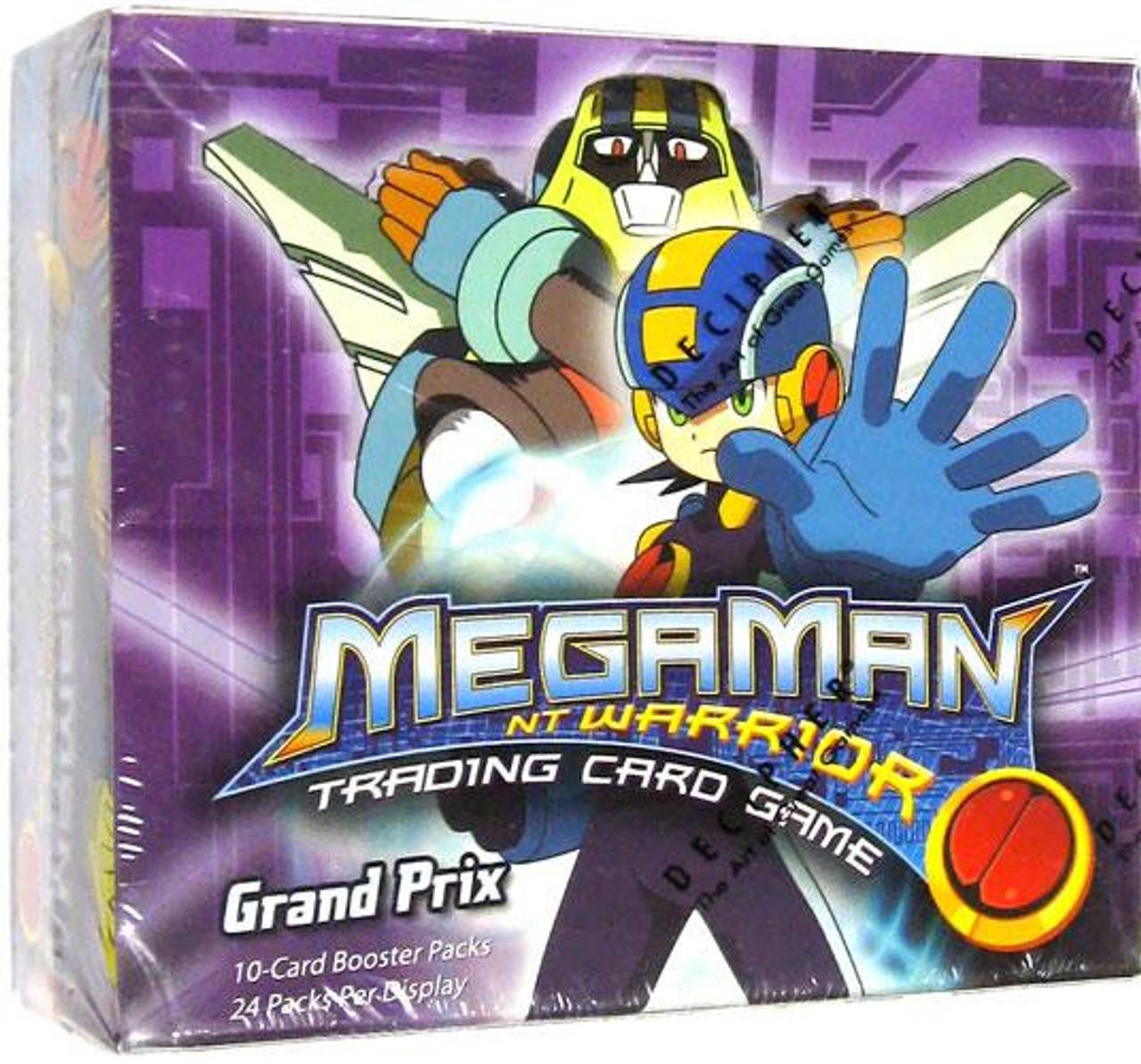 Mega Man NT Warrior Grand Prix Booster Box