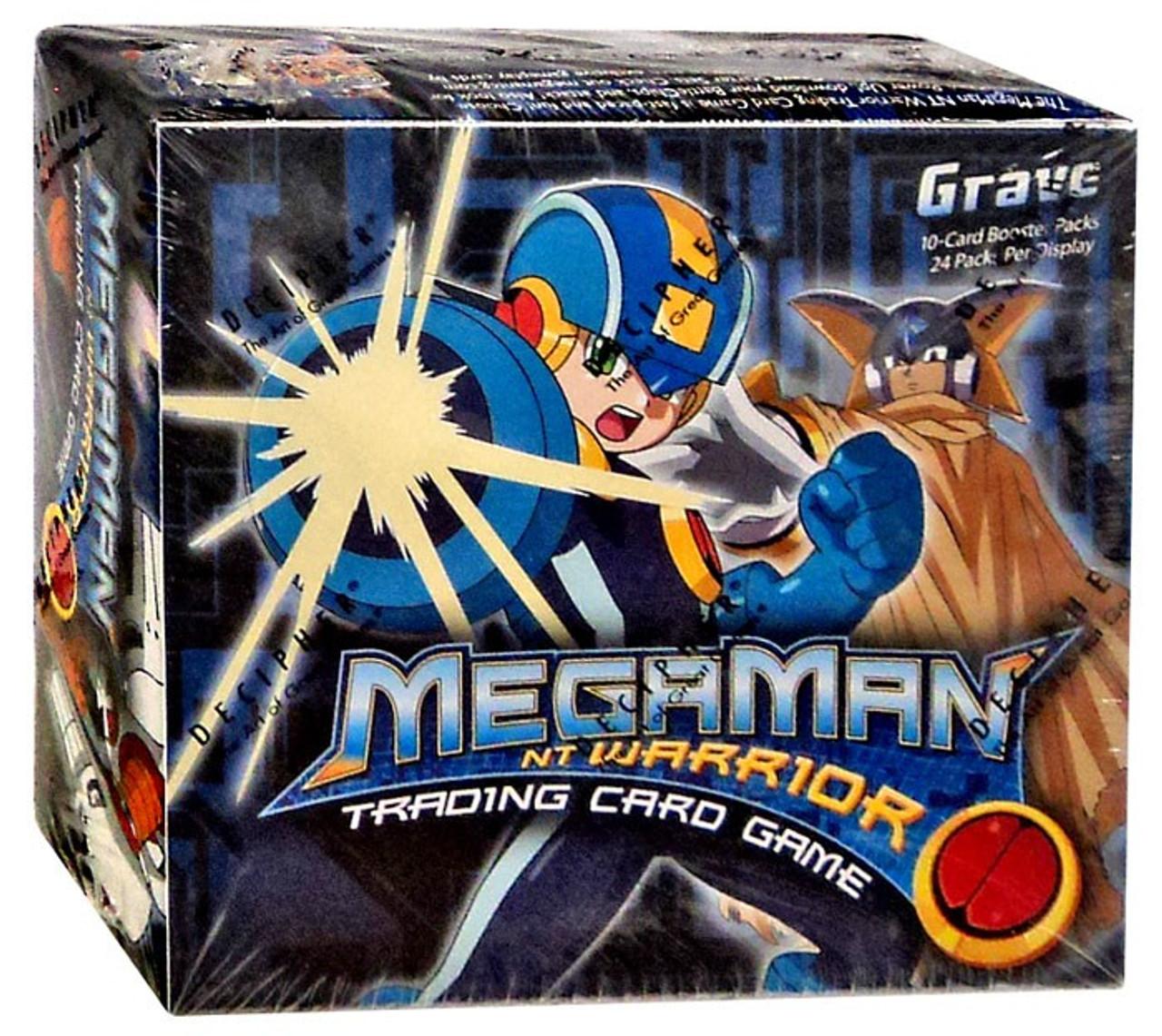 Mega Man NT Warrior Grave Booster Box #09