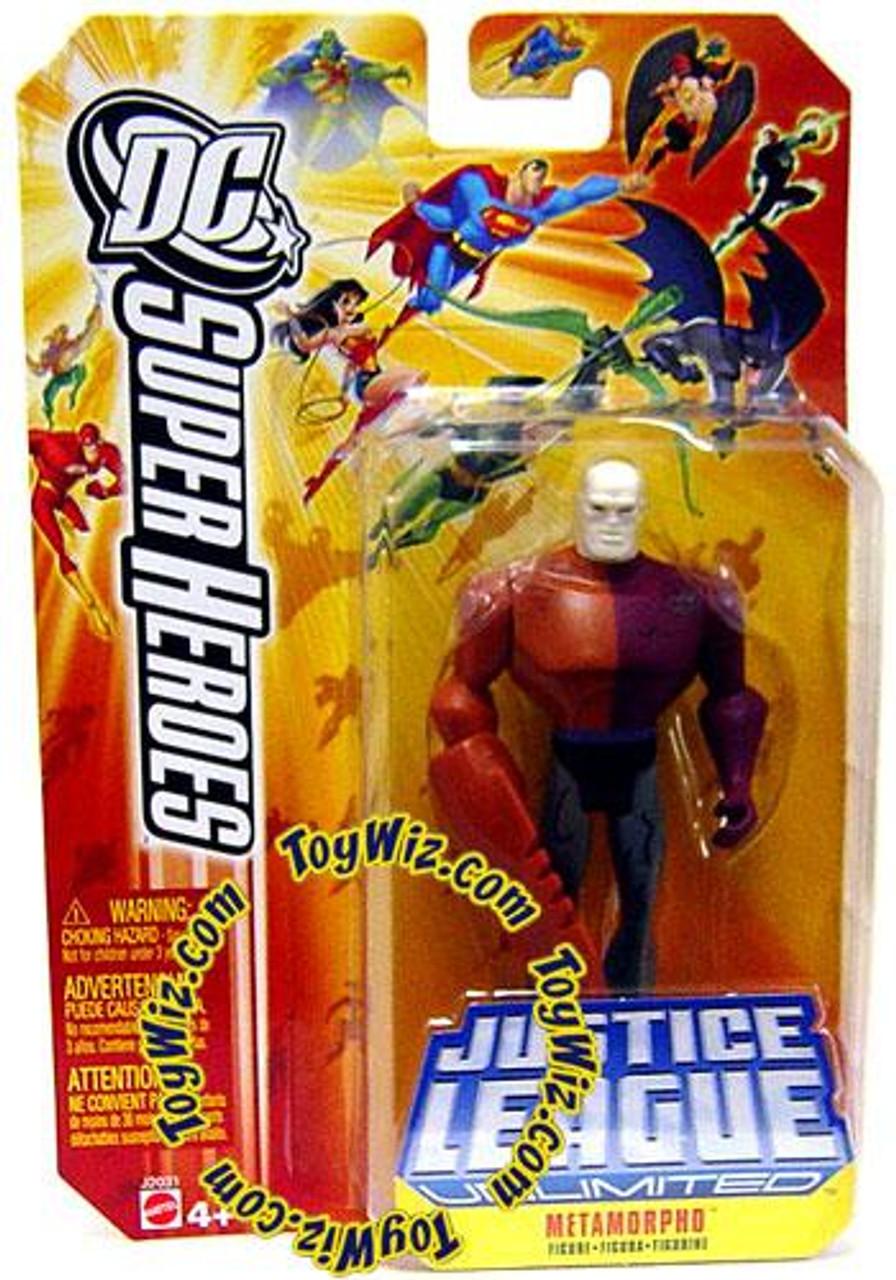 DC Justice League Unlimited Super Heroes Metamorpho Action Figure