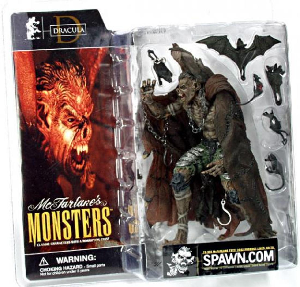 McFarlane Toys McFarlane's Monsters Dracula Action Figure [Clean Package]