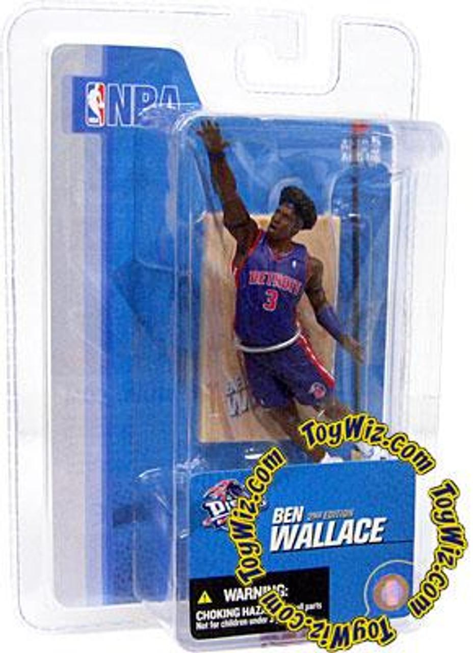 McFarlane Toys NBA Detroit Pistons Sports Picks 3 Inch Mini Series 3 Ben Wallace Mini Figure