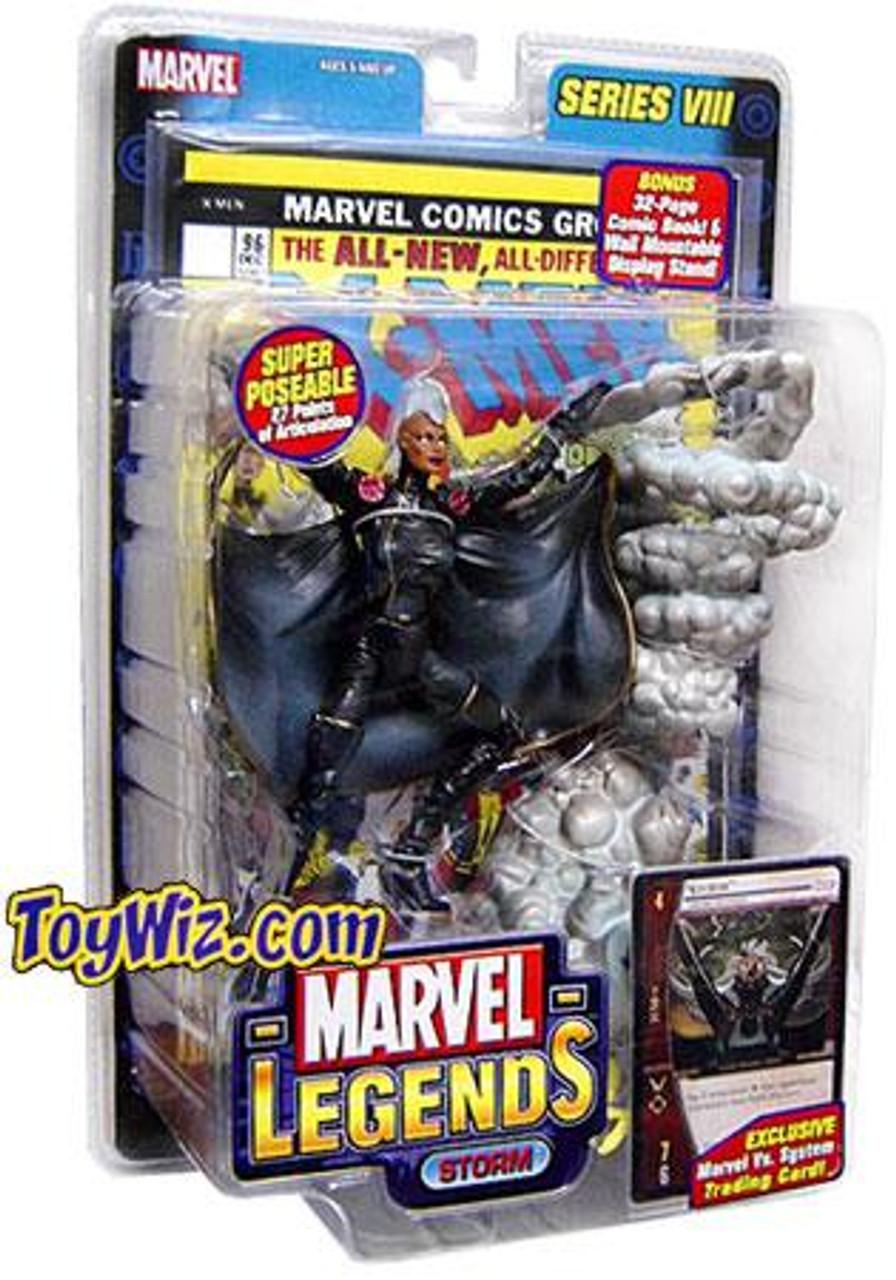 Marvel Legends Series 8 Storm Action Figure [Mohawk Variant]