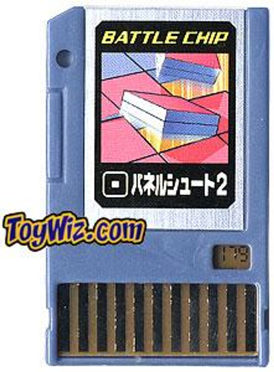 Capcom Mega Man Japanese PET Panel Shoot 2 Battle Chip #179