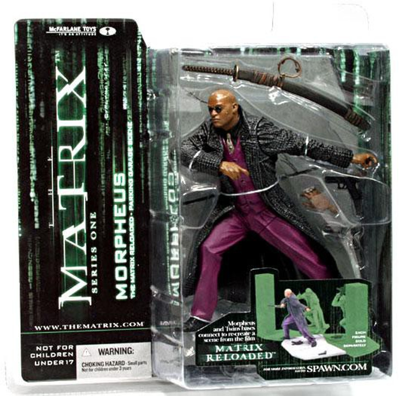 McFarlane Toys The Matrix Matrix Reloaded Morpheus Action Figure