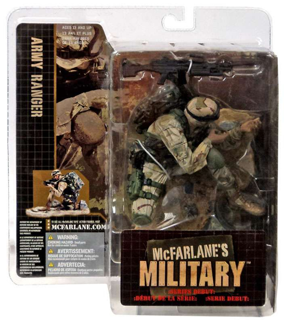 McFarlane Toys Military Army Ranger Action Figure [Caucasian]