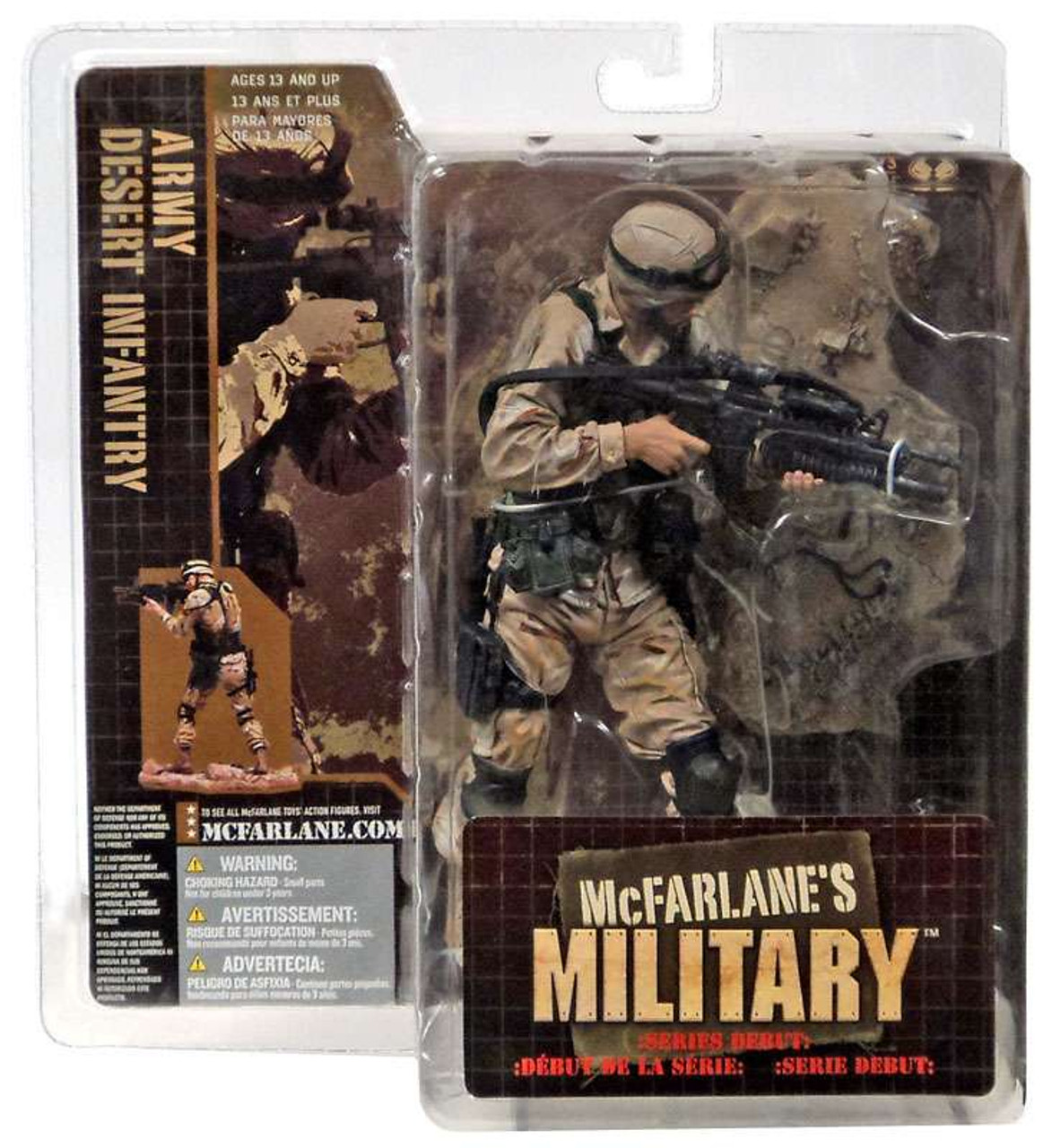 McFarlane Toys Military Army Desert Infantry Action Figure [Caucasian]