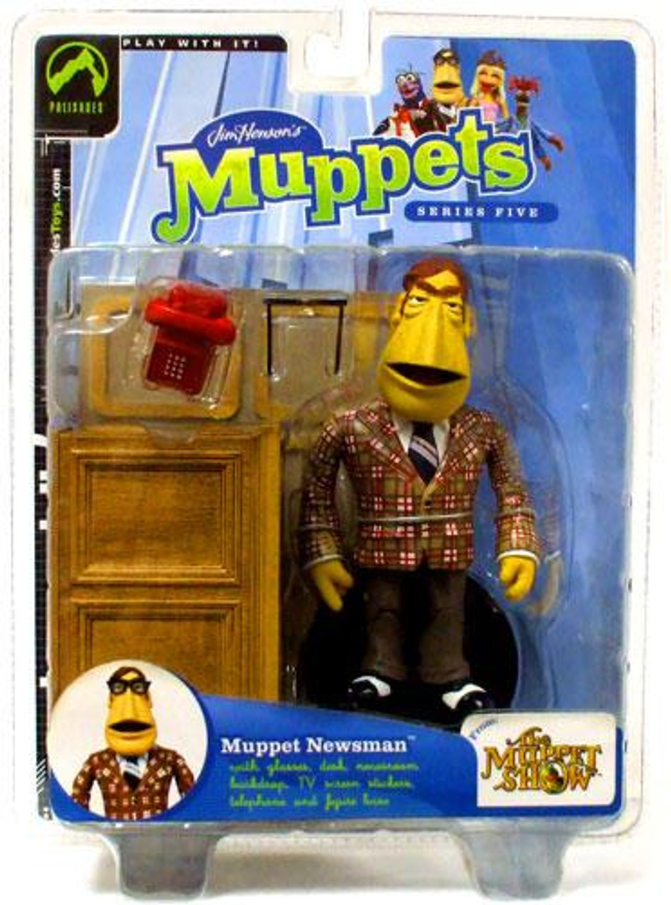 The Muppets The Muppet Show Series 5 Newsman Action Figure