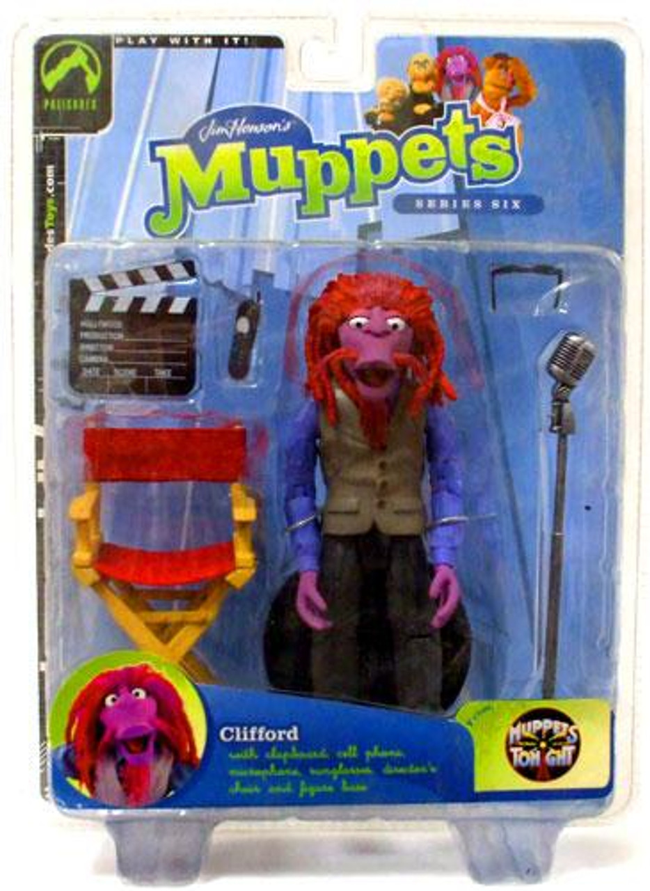 The Muppets Muppets Tonight Series 6 Clifford Action Figure