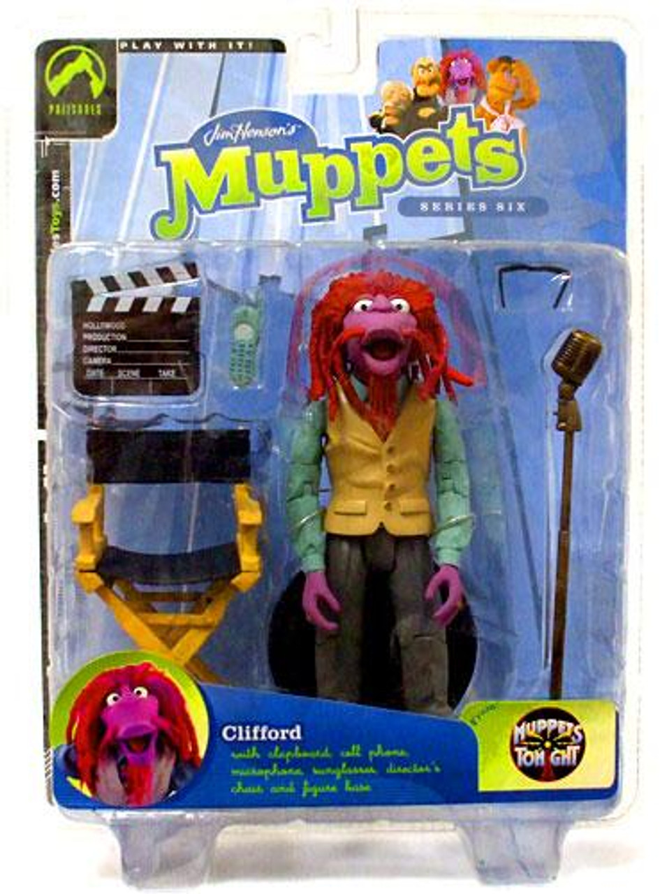 The Muppets Muppets Tonight Series 6 Clifford Action Figure [Green Shirt Variant]