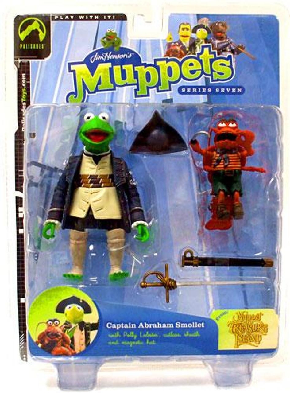 The Muppets Muppet Treasure Island Series 7 Kermit Action Figure [Captain Abraham Smollet]