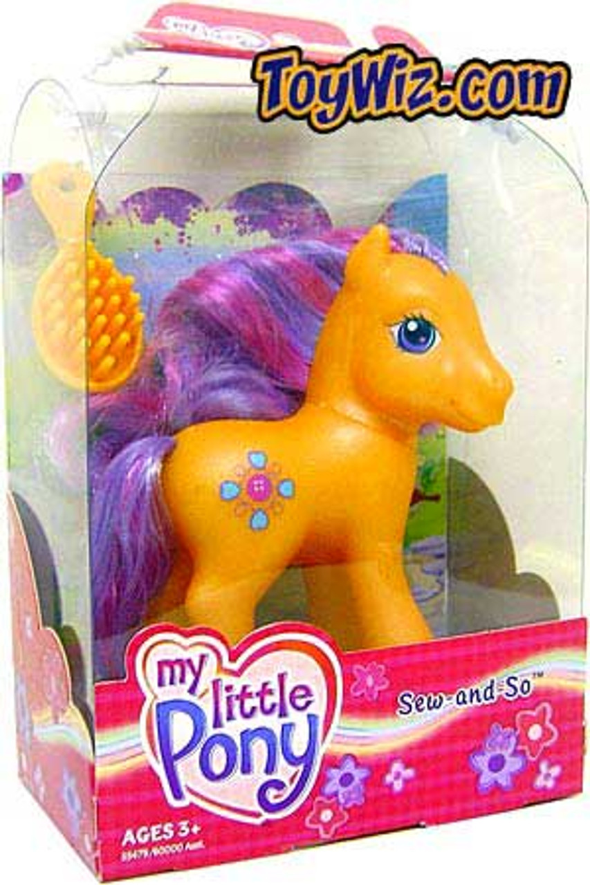 My Little Pony Classic Sew-and-So Figure