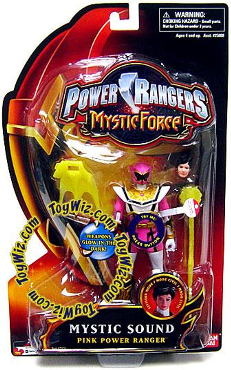 Power Rangers Mystic Force Mystic Sound Pink Power Ranger Action Figure