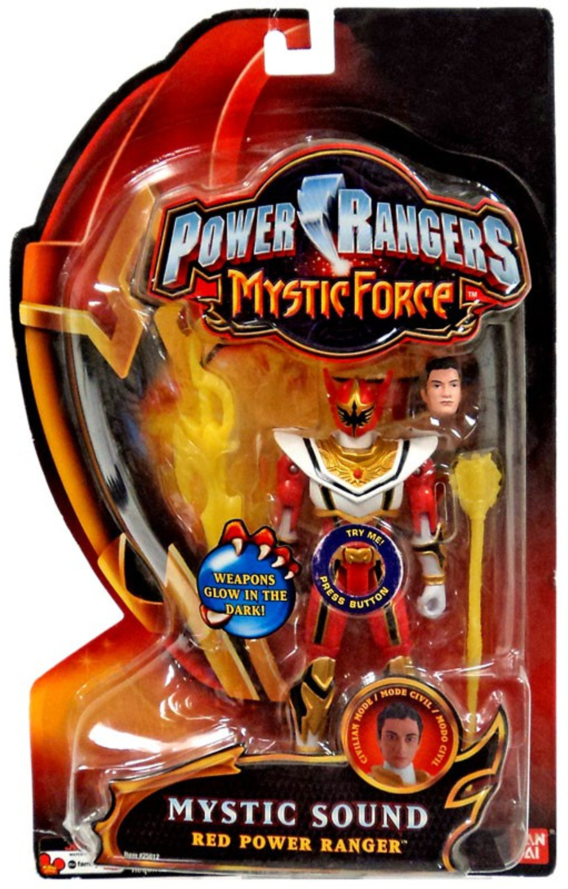 Power Rangers Mystic Force Mystic Sound Red Power Ranger Action Figure