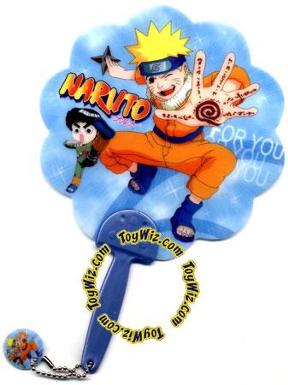 Naruto Plastic Fan