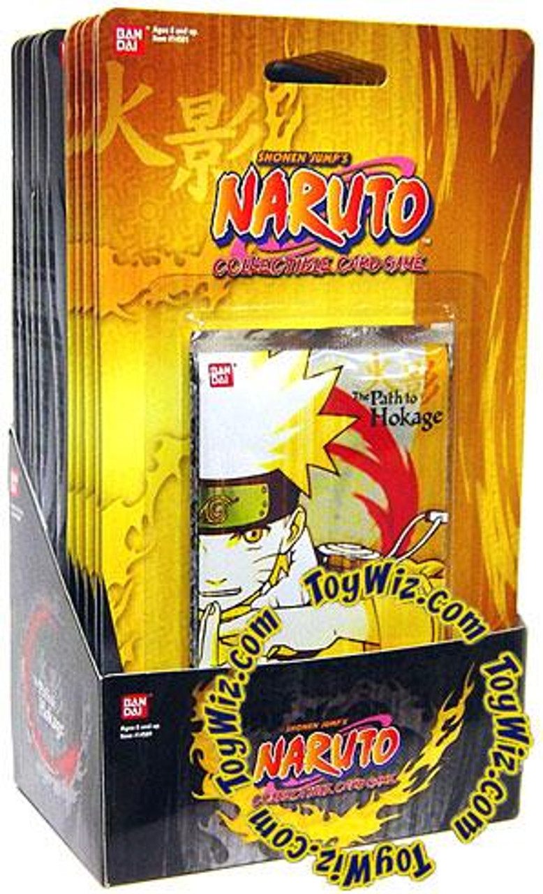 Naruto Card Game The Path to Hokage Blister Box [12 Booster Packs]